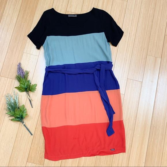 Anthropologie Dresses & Skirts - Anthropologie NUMPH colorblock Ajude dress, 10.
